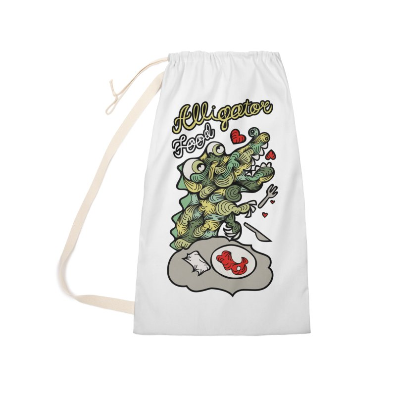 Alligator Food Accessories Bag by Chickenbilly's Artist Shop