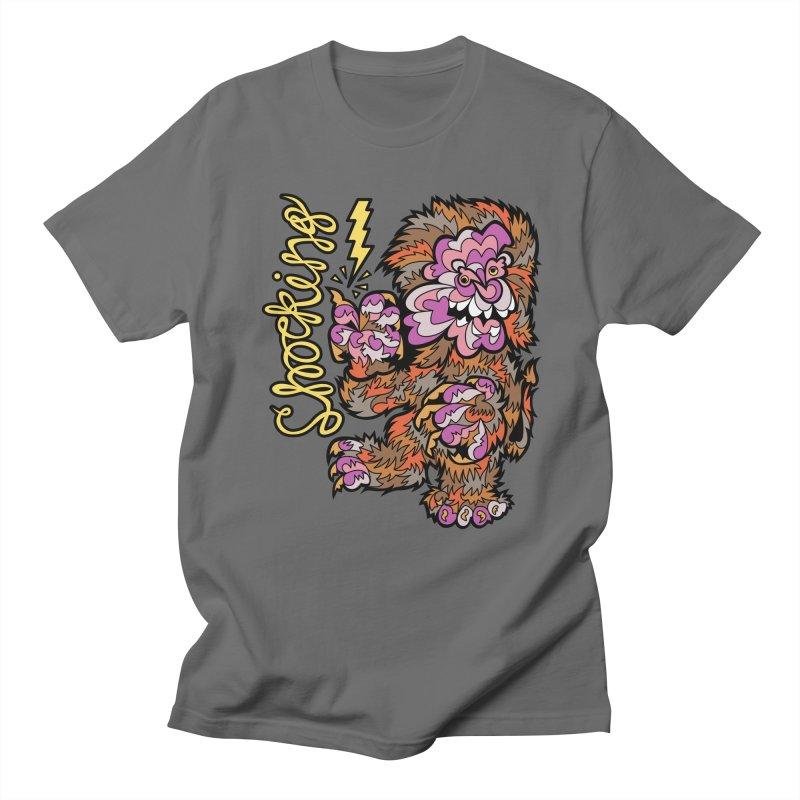 Shocking Men's T-Shirt by Chickenbilly's Artist Shop