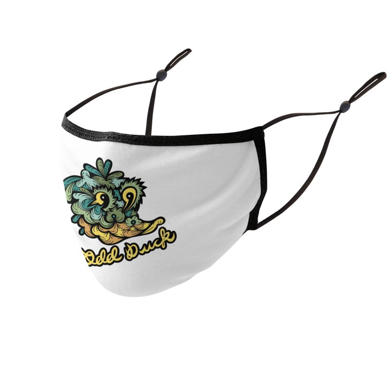Odd Duck Accessories Face Mask by Chickenbilly's Artist Shop