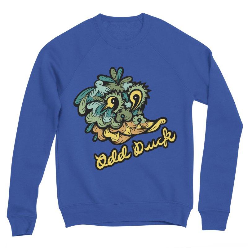 Odd Duck Men's Sweatshirt by Chickenbilly's Artist Shop