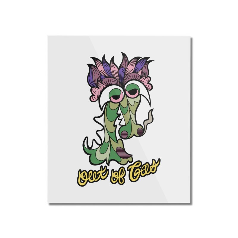 Out of Gas - Dragon Home Mounted Acrylic Print by Chickenbilly's Artist Shop