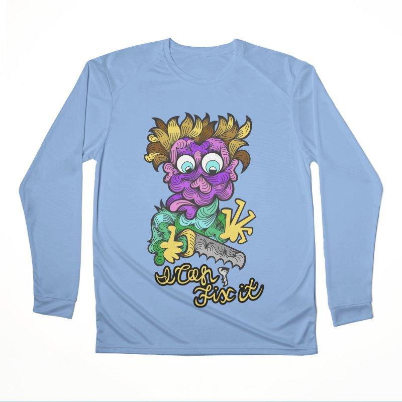 I Can Fix It Women's Longsleeve T-Shirt by Chickenbilly's Artist Shop