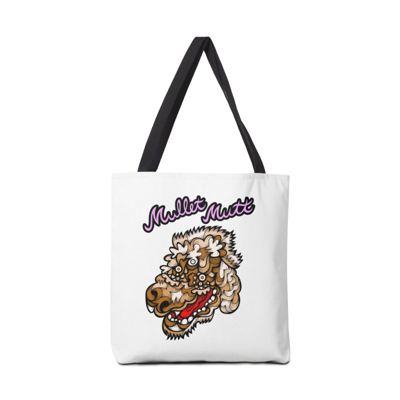 Mullet Mutt Accessories Bag by Chickenbilly's Artist Shop