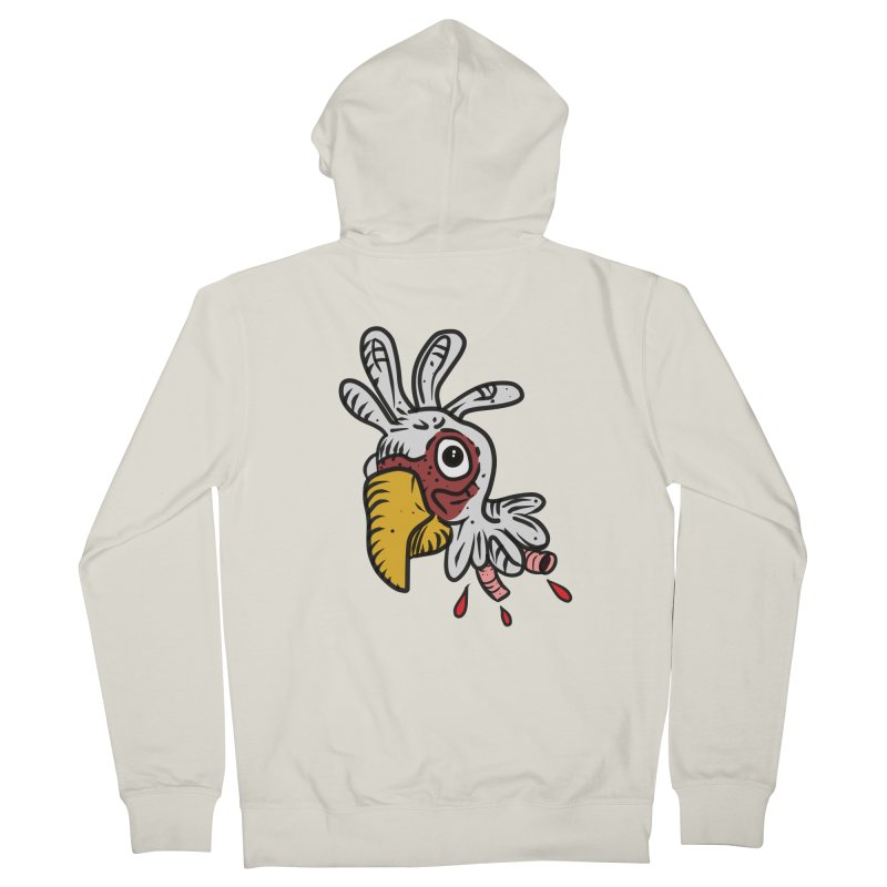 Chicken Head Women's Zip-Up Hoody by Chicken Outfit Tees