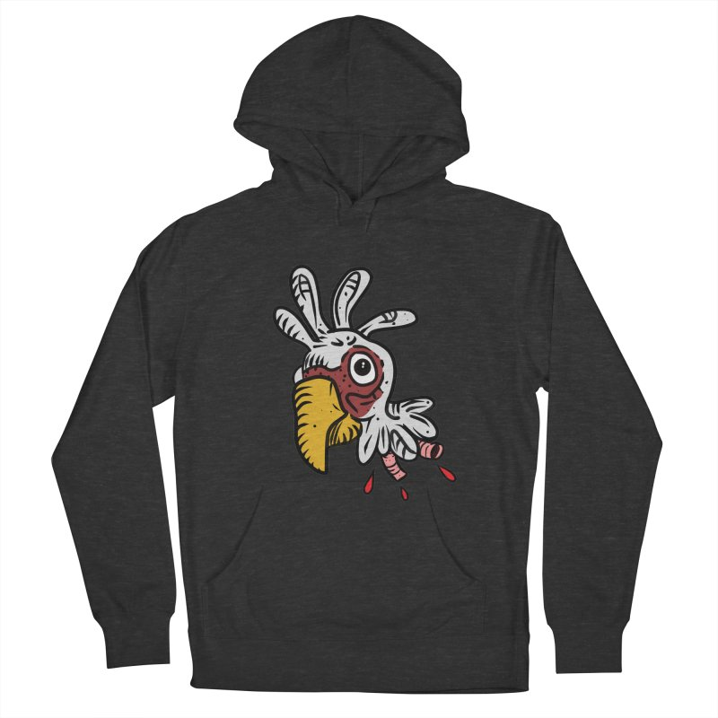 Chicken Head Women's French Terry Pullover Hoody by Chicken Outfit Tees