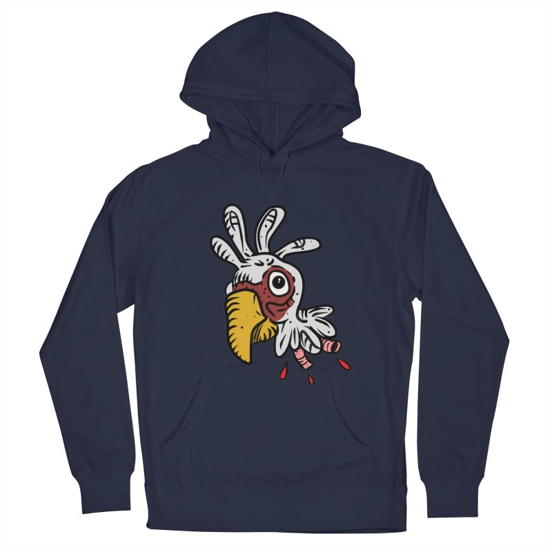 Chicken Head Women's Pullover Hoody by Chicken Outfit Tees