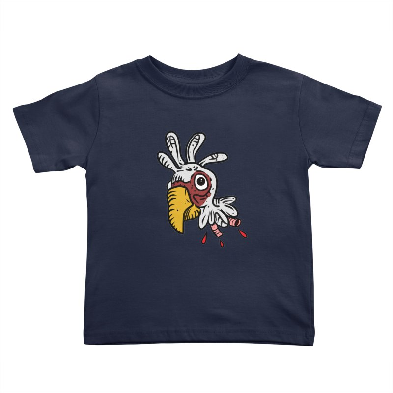 Chicken Head Kids Toddler T-Shirt by Chicken Outfit Tees