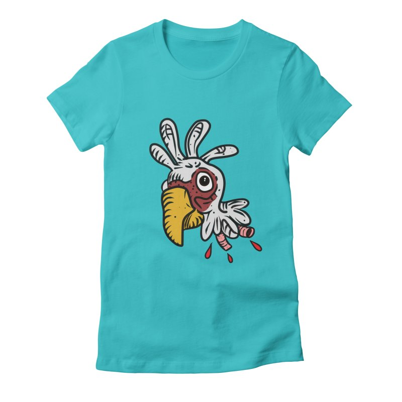 Chicken Head Women's T-Shirt by Chicken Outfit Tees