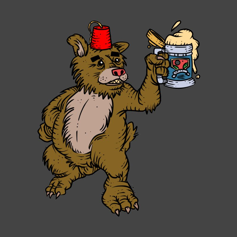 Lokys The Drunk Bear by Chicken Outfit Tees