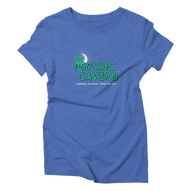 The Psychic Cavern Women's Triblend T-Shirt by Chicken Outfit Tees