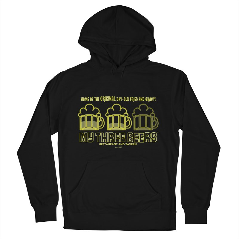 My Three Beers Men's Pullover Hoody by Chicken Outfit Tees