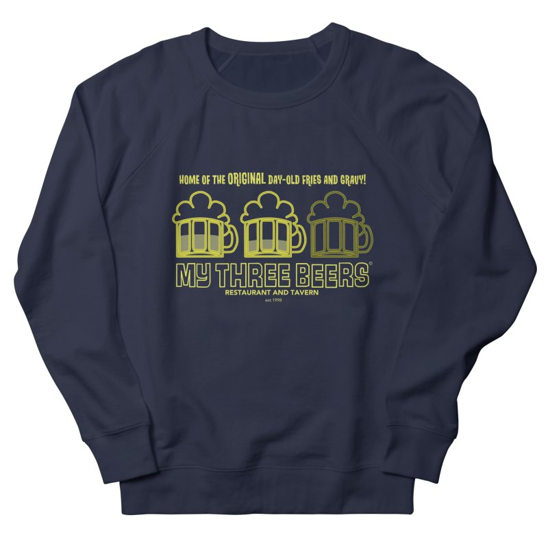 My Three Beers Men's Sweatshirt by Chicken Outfit Tees