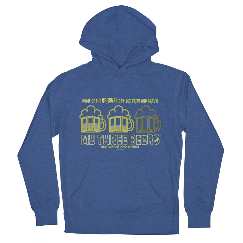My Three Beers Men's French Terry Pullover Hoody by Chicken Outfit Tees
