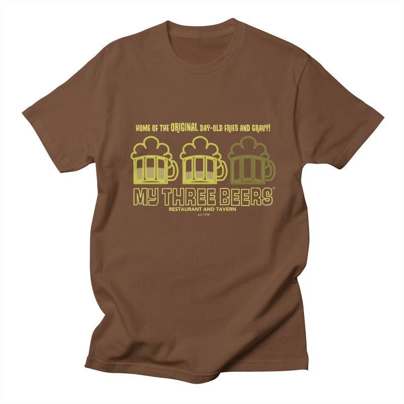 My Three Beers Men's Regular T-Shirt by Chicken Outfit Tees