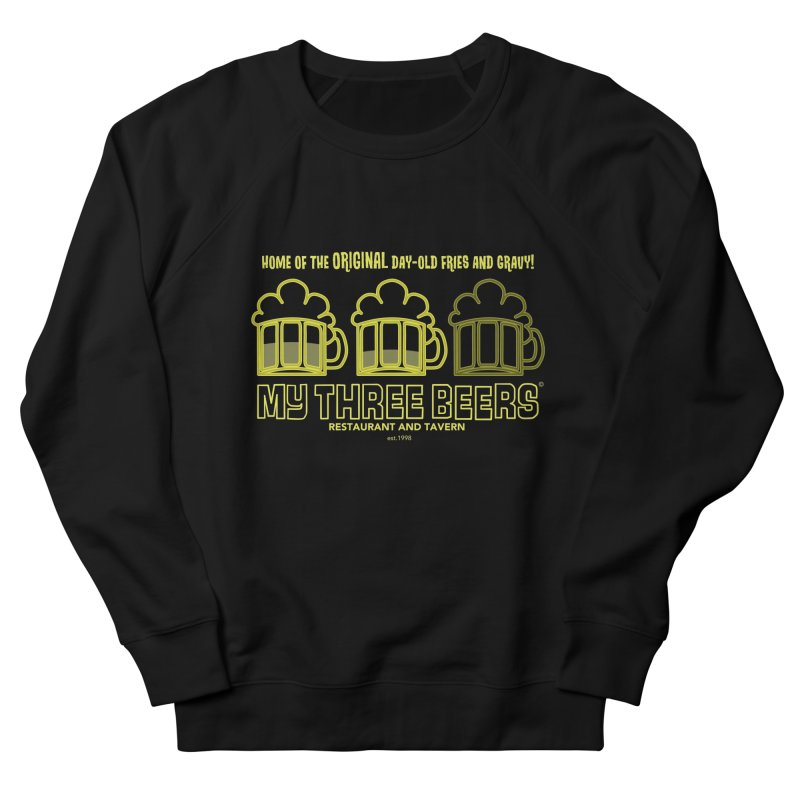 My Three Beers Men's French Terry Sweatshirt by Chicken Outfit Tees