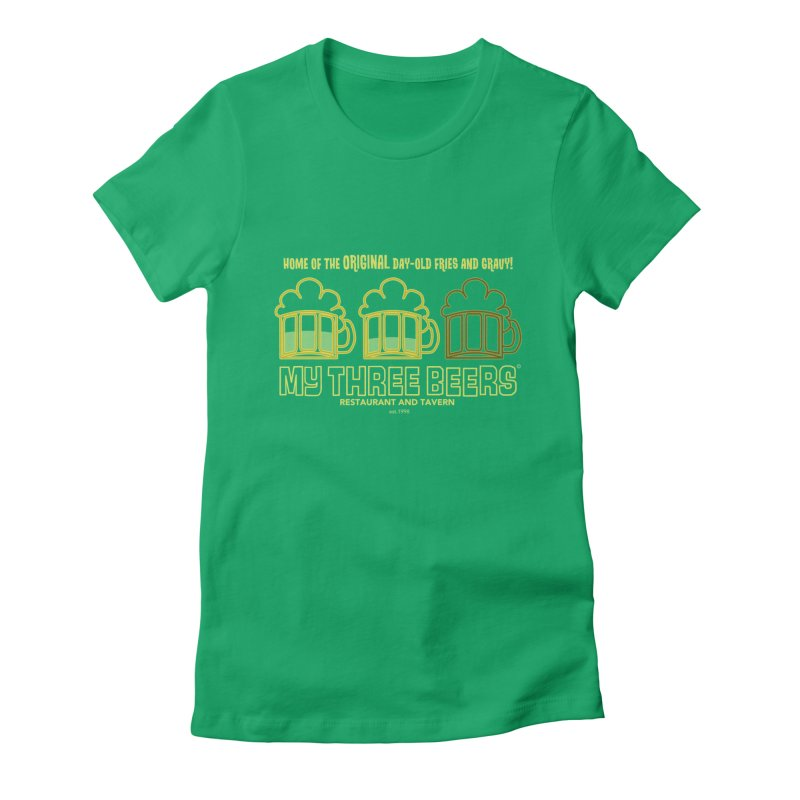 My Three Beers Women's T-Shirt by Chicken Outfit Tees