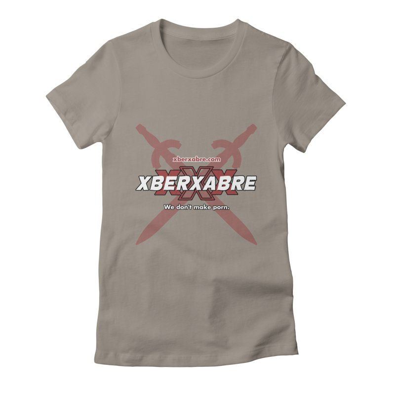 Xber Xabre Corporate Shirt Women's Fitted T-Shirt by Chicken Outfit Tees