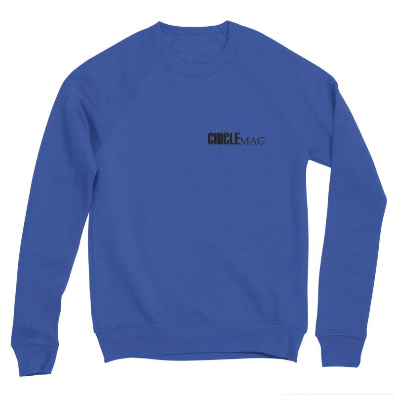 CHICLE MAG LOGO BLACK mini Men's Sweatshirt by CHICLE MAG