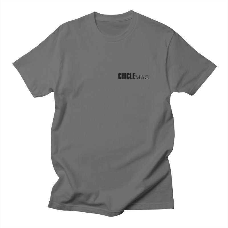 CHICLE MAG LOGO BLACK mini Men's T-Shirt by CHICLE MAG