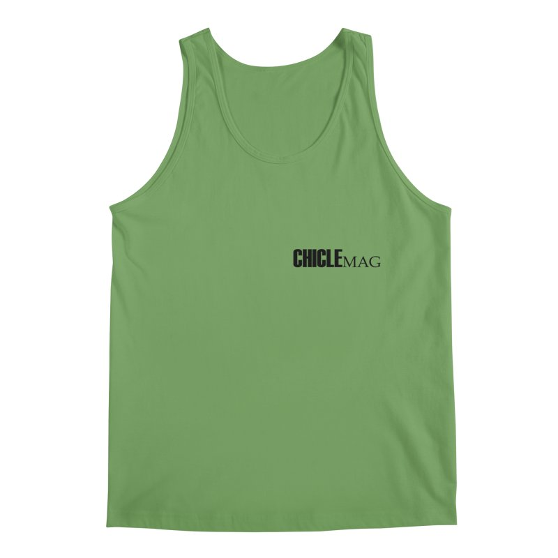 CHICLE MAG LOGO BLACK mini Men's Tank by CHICLE MAG