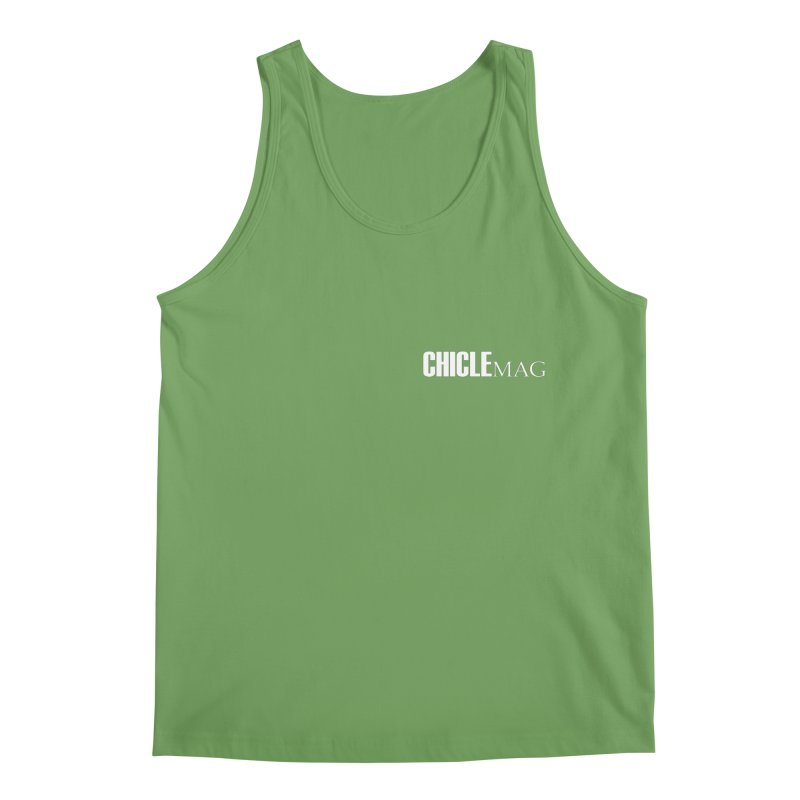 CHICLE MAG LOGO WHITE mini Men's Tank by CHICLE MAG