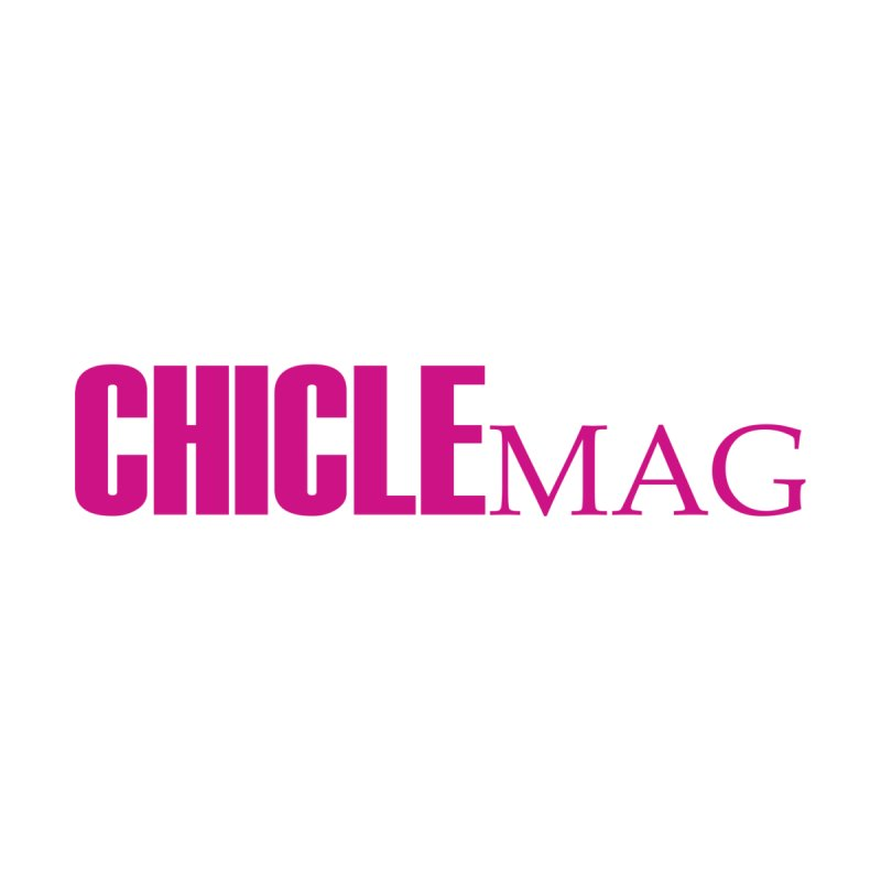 CHICLE MAG LOGO MAGENTA mini Men's T-Shirt by CHICLE MAG