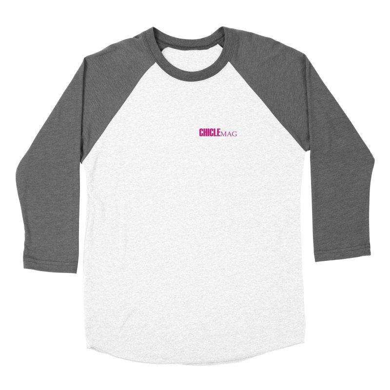 CHICLE MAG LOGO MAGENTA mini Women's Longsleeve T-Shirt by CHICLE MAG