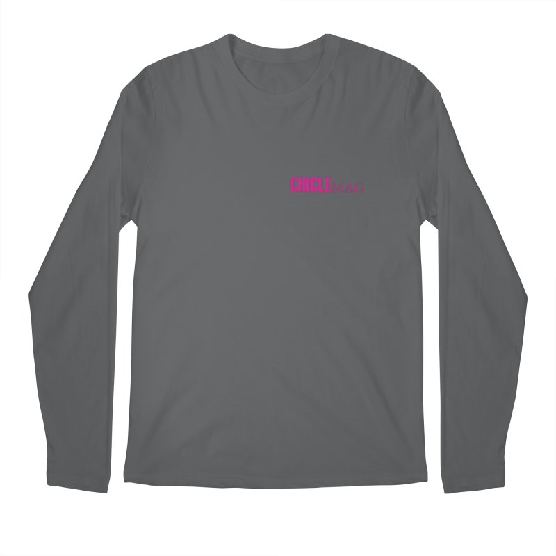 CHICLE MAG LOGO MAGENTA mini Men's Longsleeve T-Shirt by CHICLE MAG