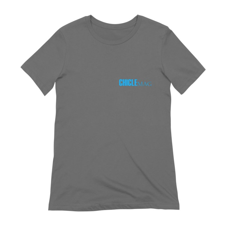 CHICLE MAG LOGO CYAN mini Women's T-Shirt by CHICLE MAG