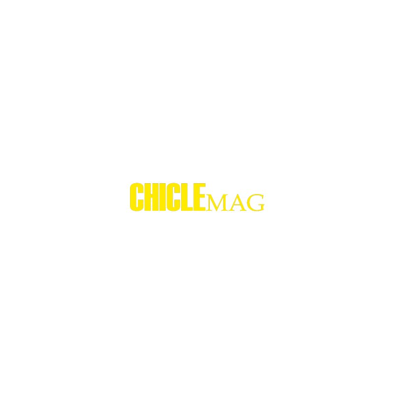 CHICLE MAG LOGO YELLOW mini Men's Pullover Hoody by CHICLE MAG