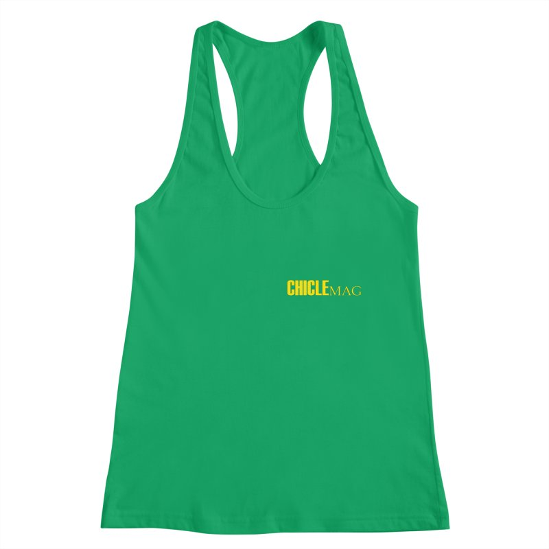 CHICLE MAG LOGO YELLOW mini Women's Tank by CHICLE MAG