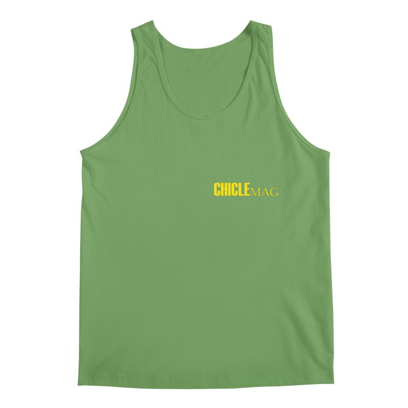 CHICLE MAG LOGO YELLOW mini Men's Tank by CHICLE MAG