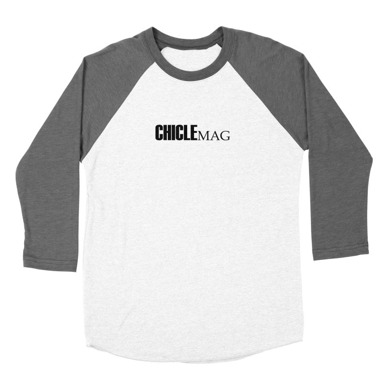 CHICLE MAG LOGO BLACK Women's Longsleeve T-Shirt by CHICLE MAG