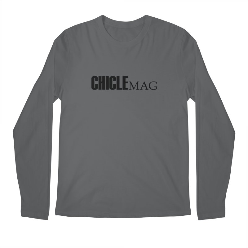 CHICLE MAG LOGO BLACK Men's Longsleeve T-Shirt by CHICLE MAG