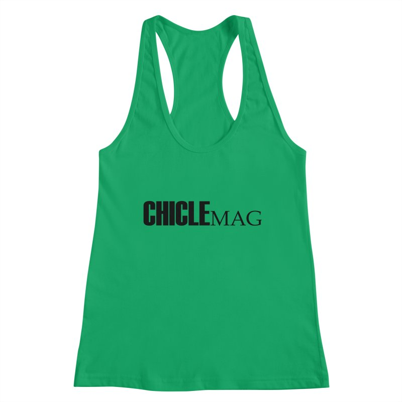 CHICLE MAG LOGO BLACK Women's Tank by CHICLE MAG