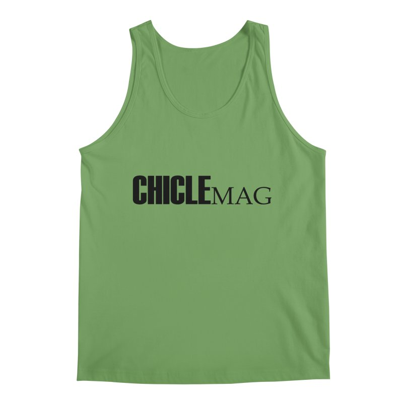 CHICLE MAG LOGO BLACK Men's Tank by CHICLE MAG