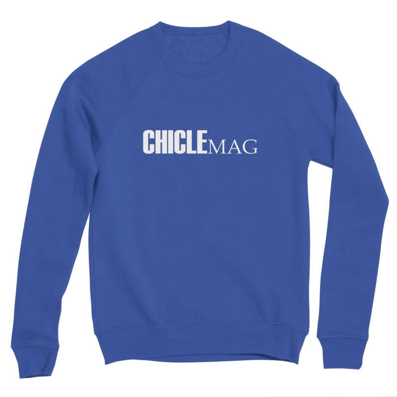 CHICLE MAG LOGO WHITE Men's Sweatshirt by CHICLE MAG