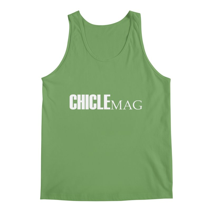 CHICLE MAG LOGO WHITE Men's Tank by CHICLE MAG