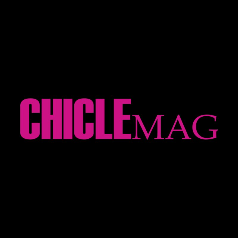 CHICLE MAG LOGO MAGENTA Men's T-Shirt by CHICLE MAG