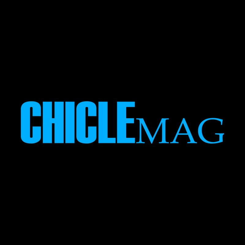 CHICLE MAG LOGO CYAN Men's Sweatshirt by CHICLE MAG