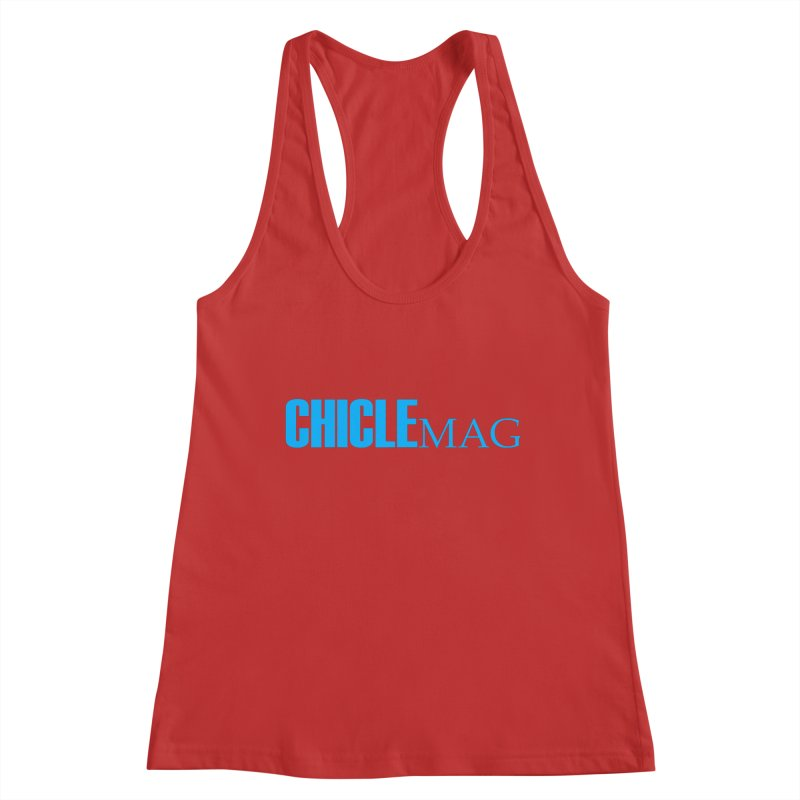 CHICLE MAG LOGO CYAN Women's Tank by CHICLE MAG
