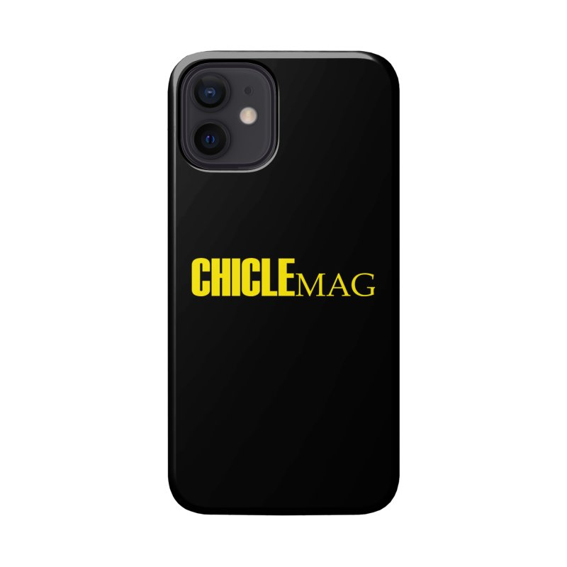 CHICLE MAG LOGO YELLOW Accessories Phone Case by CHICLE MAG