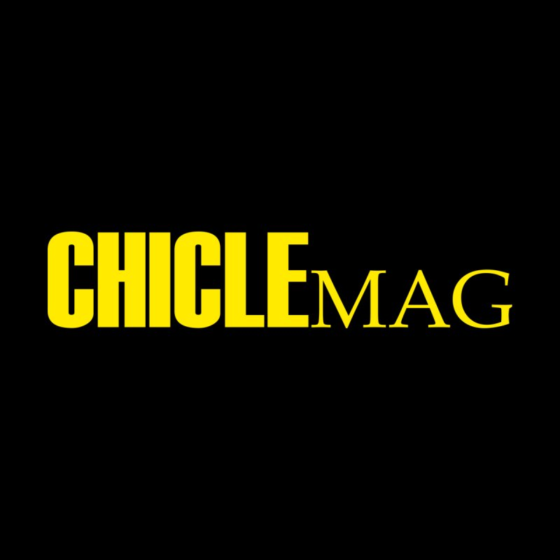 CHICLE MAG LOGO YELLOW Accessories Button by CHICLE MAG