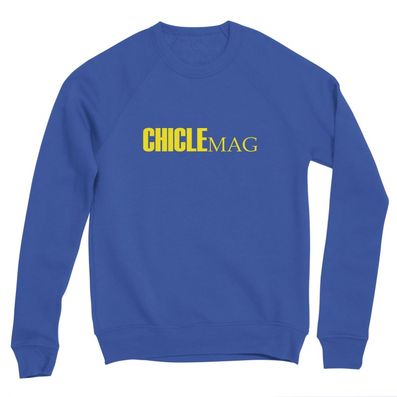 CHICLE MAG LOGO YELLOW Men's Sweatshirt by CHICLE MAG