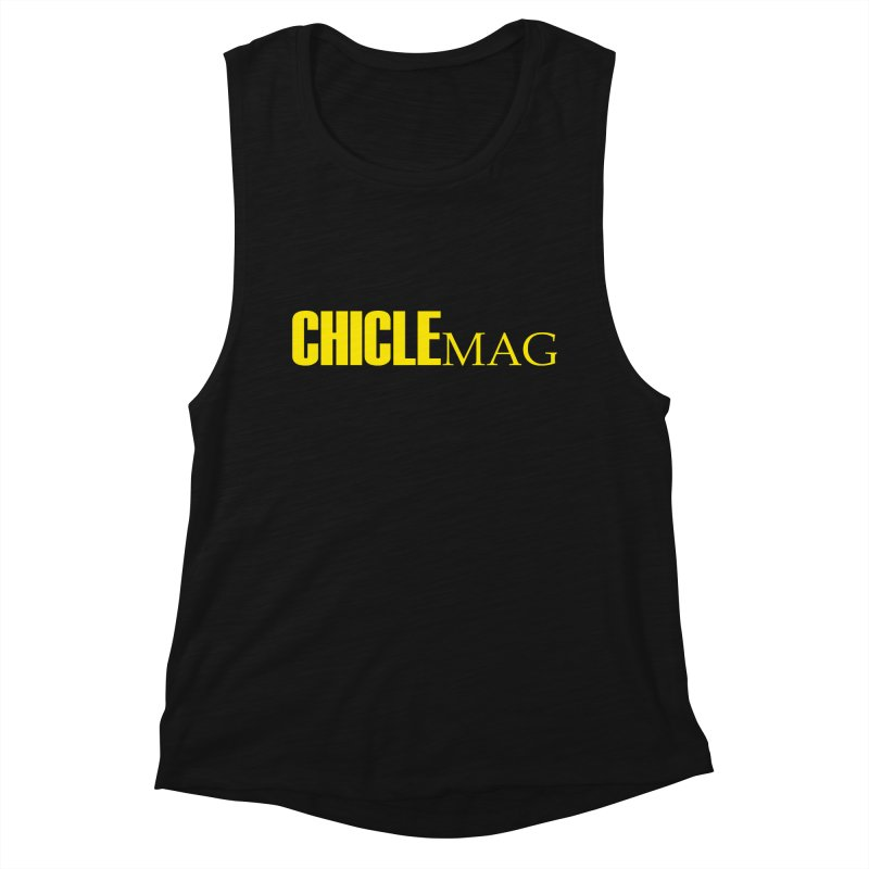 CHICLE MAG LOGO YELLOW Women's Tank by CHICLE MAG