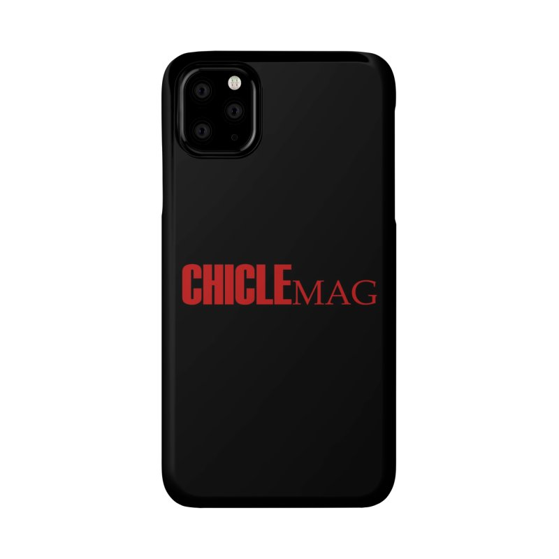 CHICLE MAG LOGO RED Accessories Phone Case by CHICLE MAG
