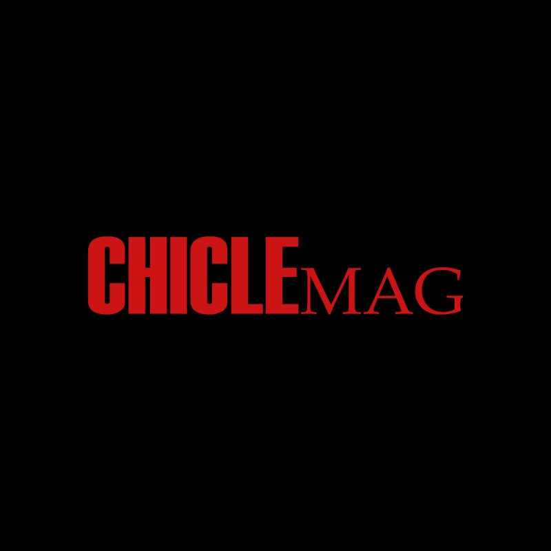 CHICLE MAG LOGO RED Accessories Sticker by CHICLE MAG