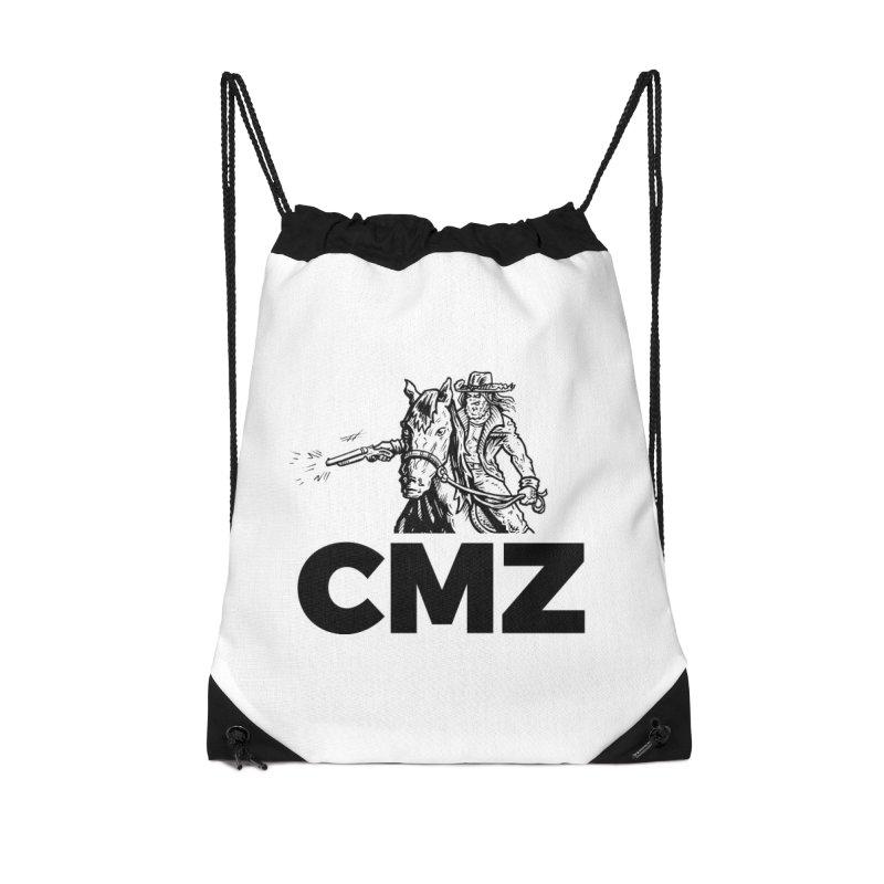 CMZ Accessories Drawstring Bag Bag by Chimpman-Z Shop