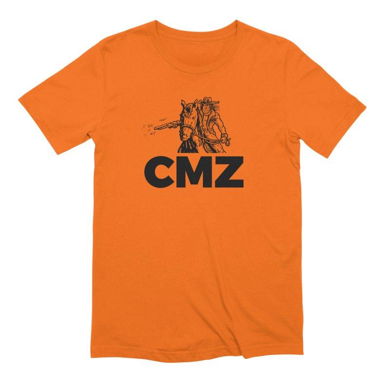CMZ Men's Extra Soft T-Shirt by Chimpman-Z Shop