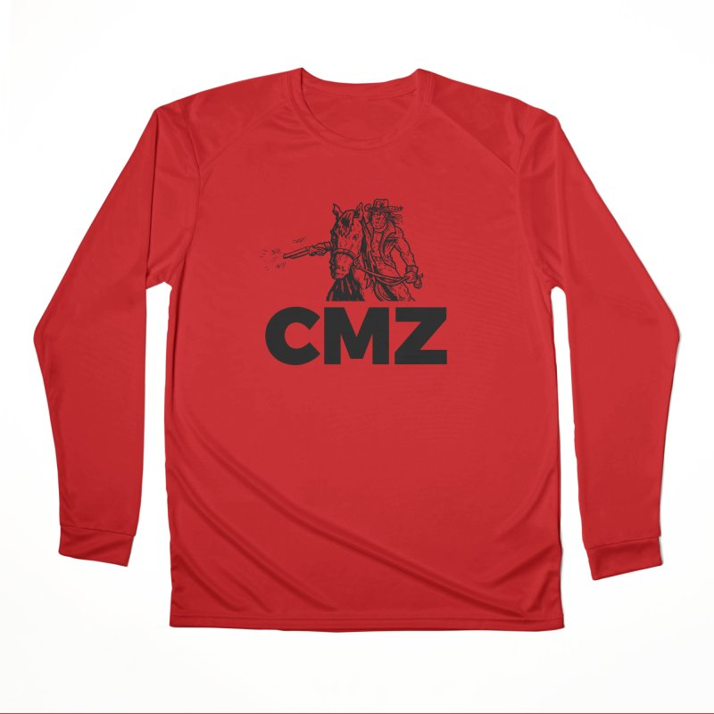 CMZ Women's Performance Unisex Longsleeve T-Shirt by Chimpman-Z Shop